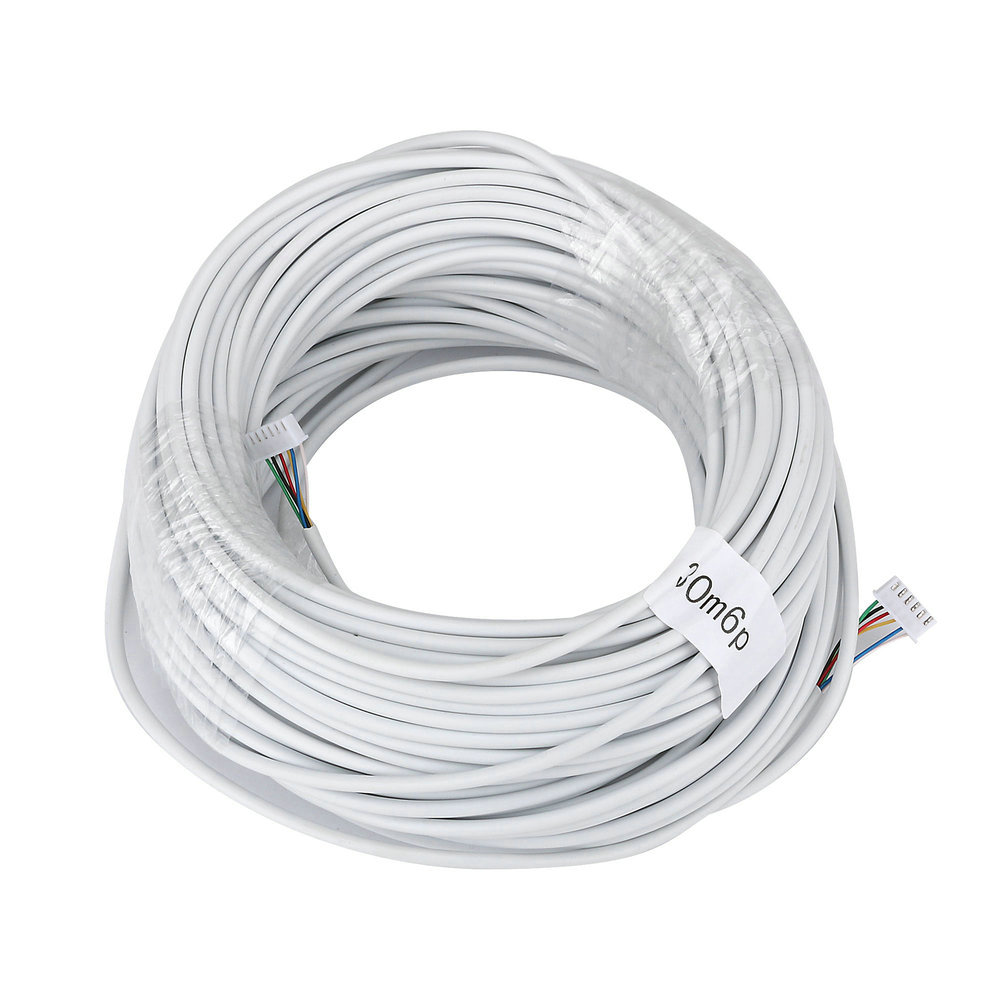 Buy 30m 2546p 6 Wire Cable For Video Intercom Electric Doorbell Wiring Color Door Phone Wired From Reliable Suppliers