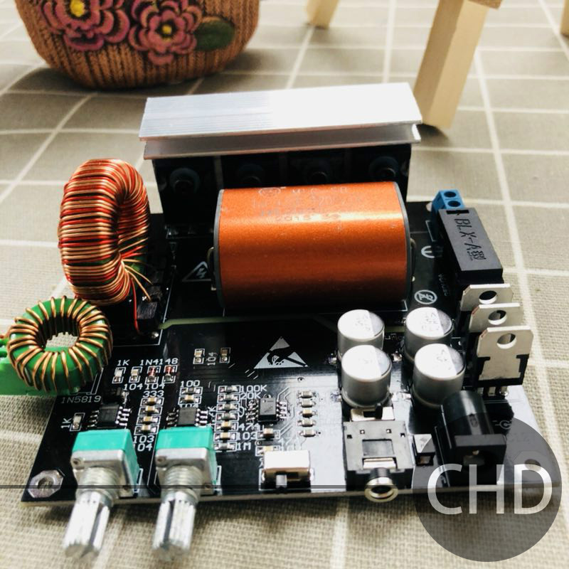 SSTC Integrated Drive Plate Product Integrated Solid Tesla Coil Young Man's First TC!