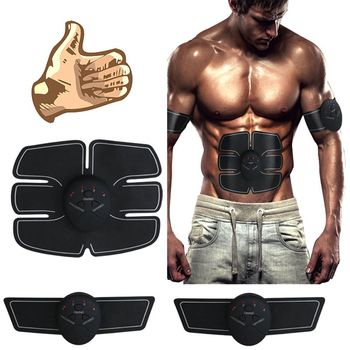 Muscle Trainer Sport Fitness Abdominal Press Stimulator Gym  training equipment apparatus Home Electric Belly exercises Machine xiaomi mijia yunmai electric muscle stimulator massage gun pro design kits sport equipment 5 gear vibrating wireless home gym
