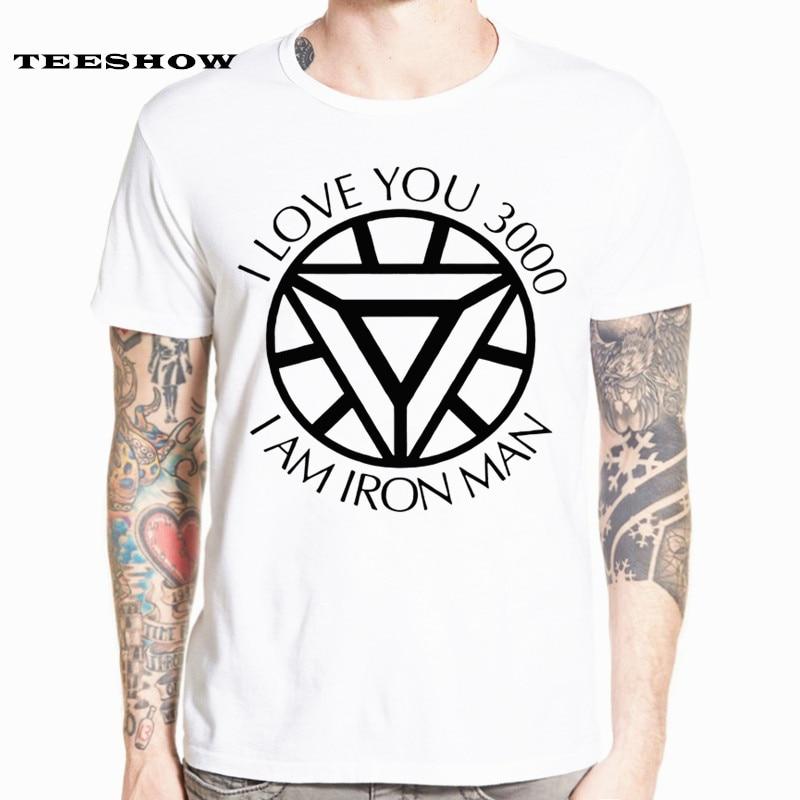 I Love You 3000 Times   T  -  shirt   Iron Man Love U 3 Three Thousand Times   T     Shirt   Avengers 4 Endgame Iron Man Women Men Top HCP4574