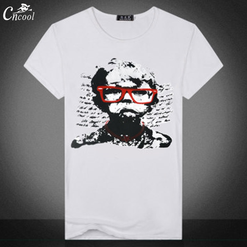 Cncool Mans T-shirt Short Sleeve Casual T Shirt Crying b y Printing Shirt Epacket Free Shipping New 2018 for Men