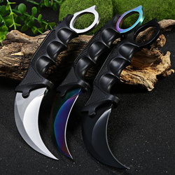 Jeslon karambit knife cs go never fade counter strike fighting survival tactical knife claw camping knives.jpg 250x250