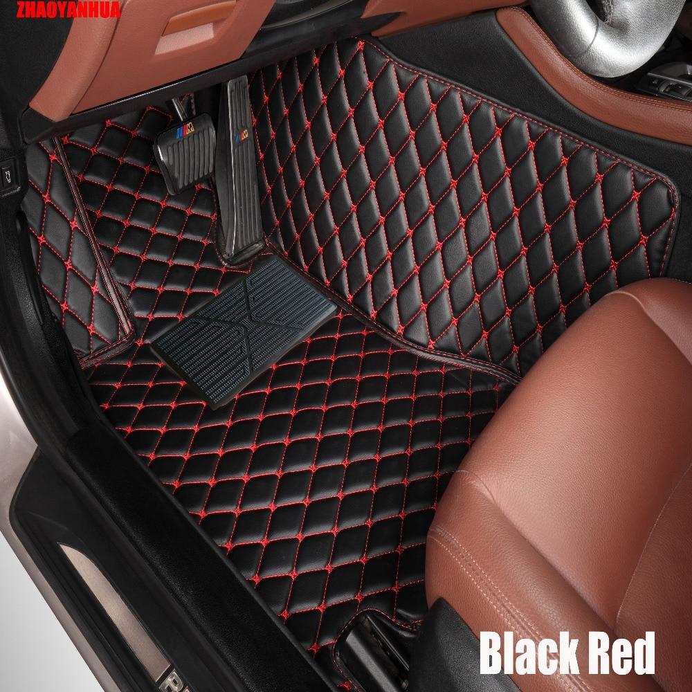 Zhaoyanhua special car floor mats for kia sportage optima k5 forte cerato k3 cadenza soul leather anti slip car styling carpet l