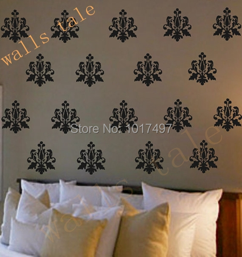 Free Shipping Set Of 12 Pieces 15 Cm X 18 Cm French Damask Pack