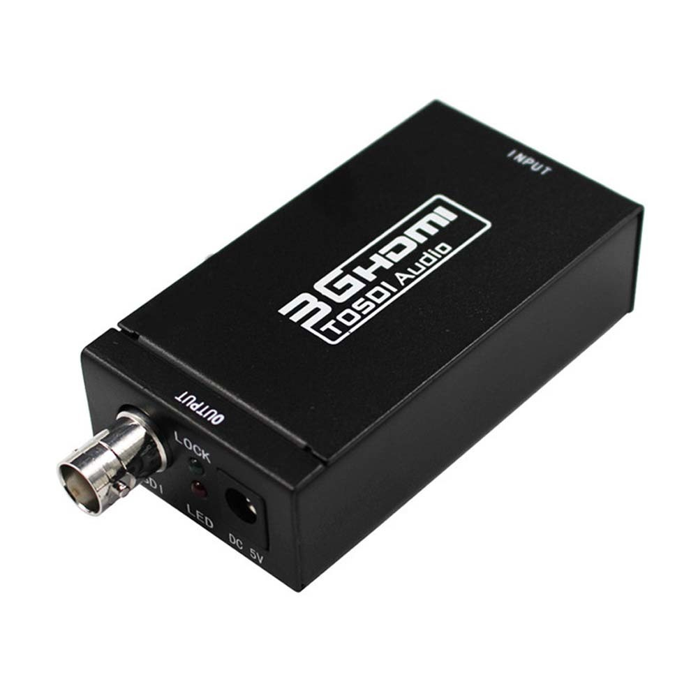 Portable Digital To Analog HDMI To SDI Converter Adapter HD To BNC SDI/HD SDI/3G SDI 1080P Multimedia HD Video Converter Adapter