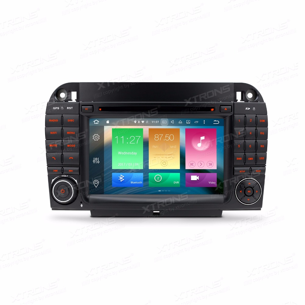 Android 6.0 OS7&#8243; Car DVD for Mercedes-Benz S-Class W220 1998-2005 ( S-280 S-320 S-350 S-400 S-430 S-500 ) with <font><b>2GB</b></font> <font><b>RAM</b></font> 32GB ROM