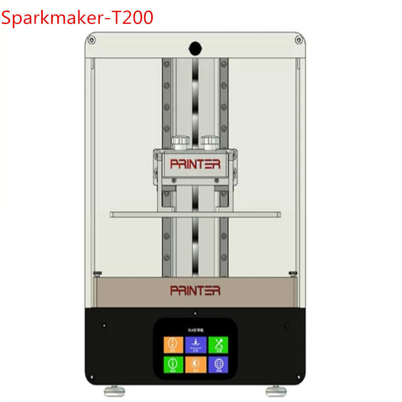 Sparkmaker-T200 2 K 216*135*200mm UV Résine SLA/DLP/LCD 3d imprimante