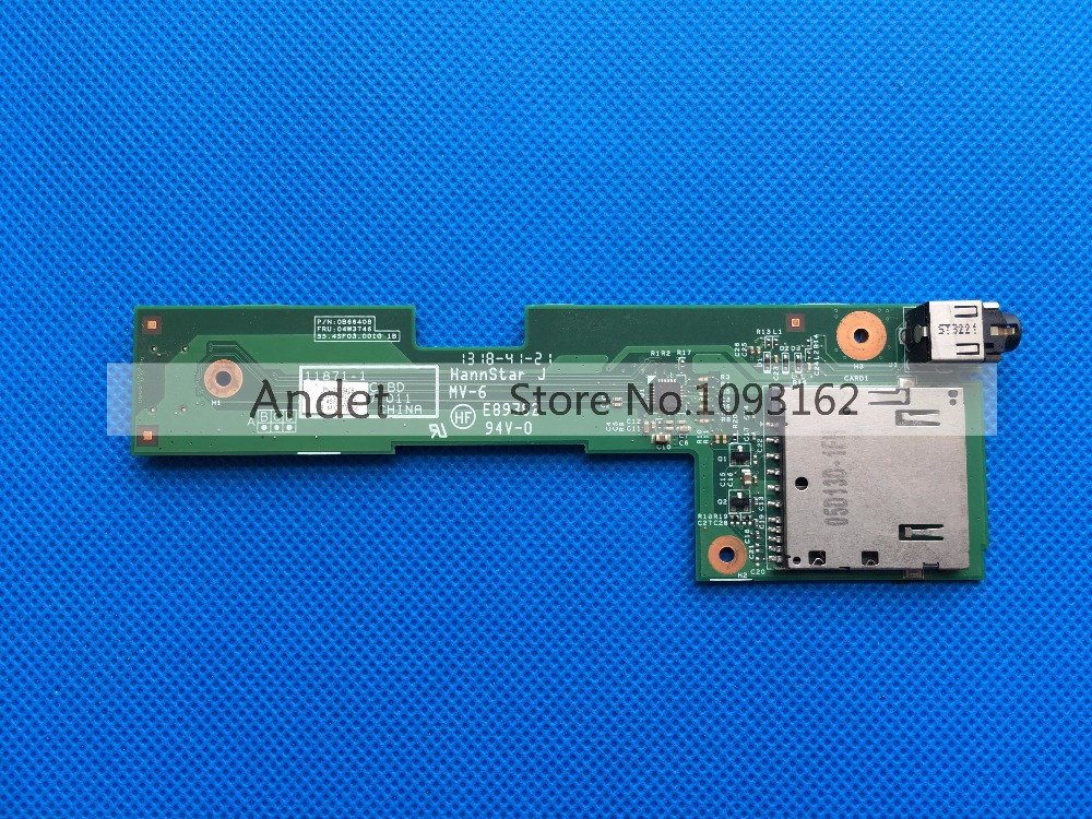 New Original For Lenovo ThinkPad L530 Sound Card Audio Board Reader Multi Subcard 04W3746 0B66408 55.4SF03.001