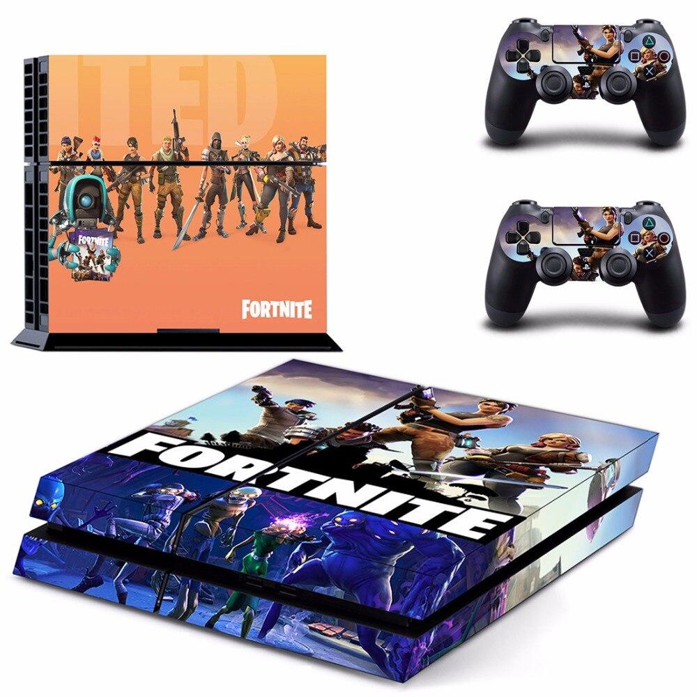 Gioco Fortnite Battle Royale PS4 Autoadesivo Della Pelle Della Decalcomania Per Sony PlayStation 4 Console e 2 Controller PS4 Skin Sticker In Vinile