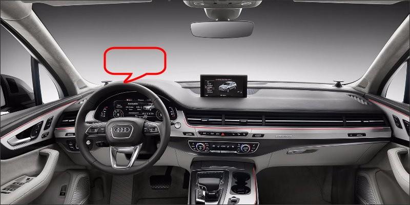 Audi Q7 2016 interior