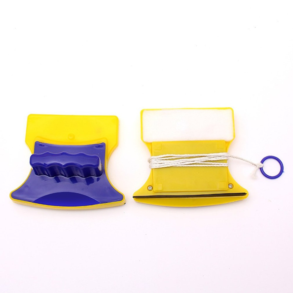 2019 Nieuwe Stijl Magnetische Borstel Voor Wassen Windows Huishoudelijke Dubbelzijdig Glazenwassen Tool Magnetische Window Cleaner Dropshipping De Mondholte Schoonmaken.
