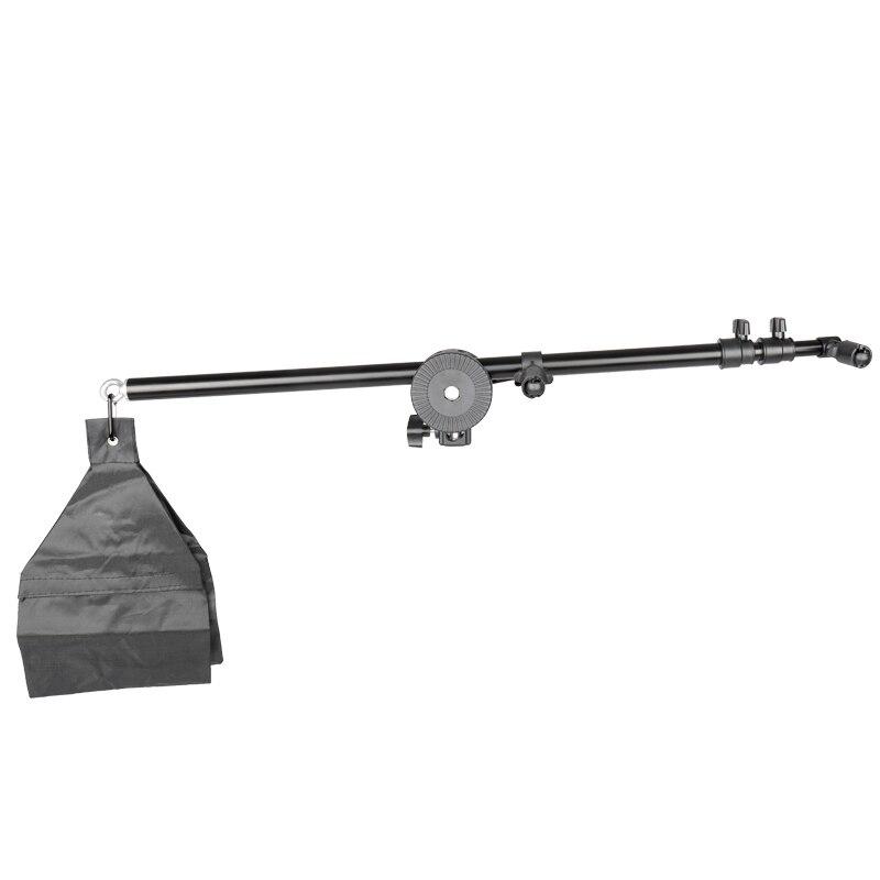 Photo Studio  Holder Bracket Swivel Head Reflector Arm Support 24 Inch-66 Inch