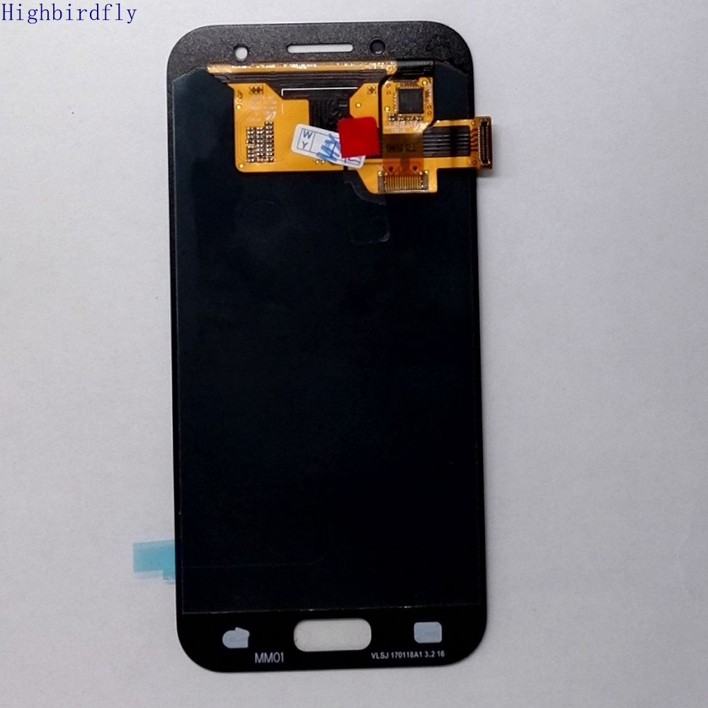 Highbirdfly 2017 For Samsung Galaxy A3 <font><b>A320</b></font> A320F A320Y A320M A320FL Lcd Screen Display+Touch Glass Digitizer Assembly <font><b>Amoled</b></font> image