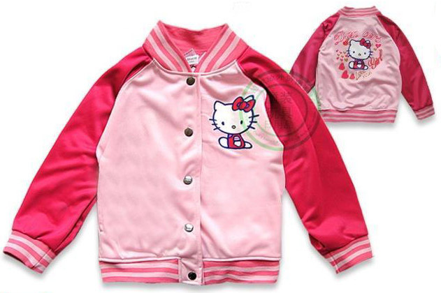 Aliexpress.com : Buy Free Shipping children&39s jackets girl hello