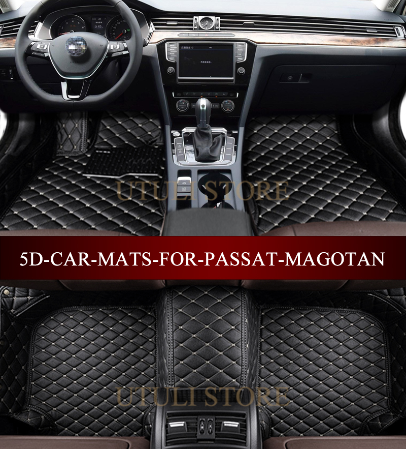 Car Floor Mats For Volkswagen Passat Magotan Cc B8 B7 B6