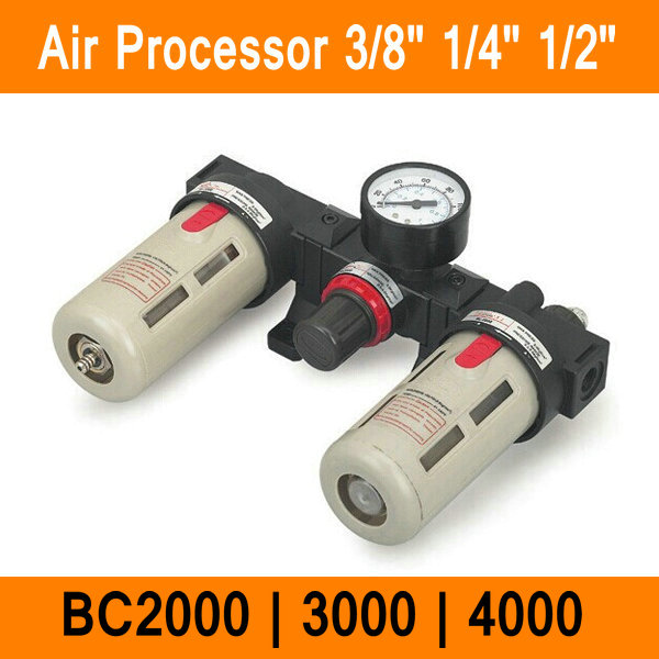 BC2000 BC3000 BC4000 Size 1/4 1/2 3/8 Air Filter Combination Air Pressure Filter Regulator Lubricator BC Series Three-pointBC2000 BC3000 BC4000 Size 1/4 1/2 3/8 Air Filter Combination Air Pressure Filter Regulator Lubricator BC Series Three-point