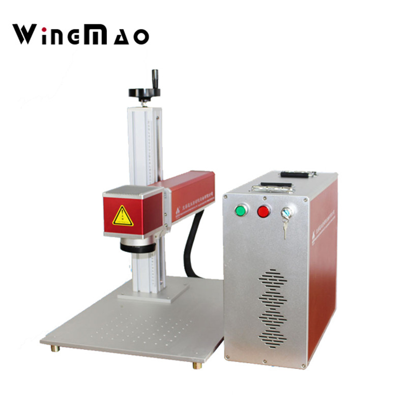 Raycus fiber laser 50W laser marking machine high quality fiber laser marking machine 20W with Red automatically find the focus