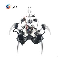 20DOF Aluminium Hexapod Robotic Spider Six Legs Robot Frame Kit Compatible with Arduino