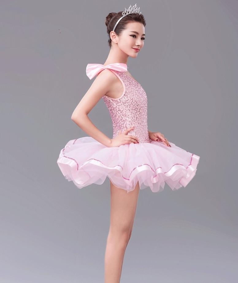 88031a325a28 Pink Tutu Ballet Leotard Dancing Dress Kids Girls Dance Wear Ballet ...