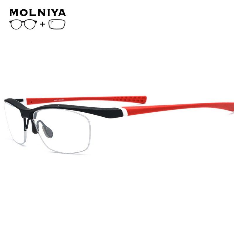 TR90 Sports Optical Prescription Glasses Frame Men Basketball Oversize Full Eyewear Spectacles 2019 Myopia Outdoor Eyeglasses