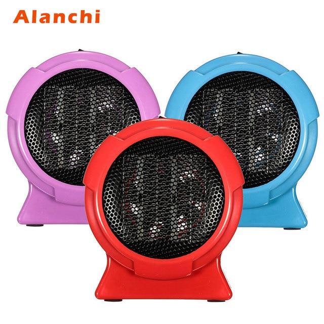 Desk Fan Heater Portable Handy Durable Quality Mini Personal Ceramic E Electric Winter Warmer