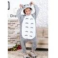 Feliz Páscoa Carnaval Crianças Traje Pokemon Pikachu Totoro Pijamas Kigurumi Animais Primavera Crianças Pijamas Pijamas Jumpsuit