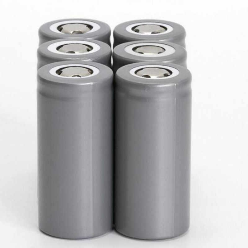 20018 Thương Hiệu Mới 32650 LiFePO4 Cell 7000 mAh 3.2V LiFePO4 pin sạc có đầu dẹt dùng cho đèn pin 32650 Pin 1 cái/lốc