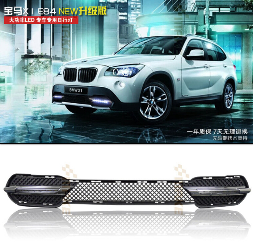 LED DRL daytime running light for BMW X1 E84 2011 12