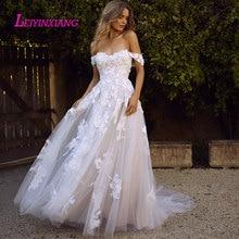 LEIYINXIANG 2019 Wedding Dress Bride Gown A-Line Backless