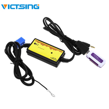 VicTsing аудиомагнитолы автомобильные интерфейс MP3 USB SD адаптер 8 P подключения цифровой CD чейнджер для Skoda Ford сиденье volkswagen