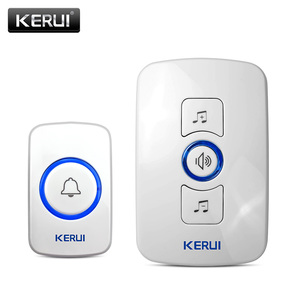 KERUI M525 Doorbell Smart Wireless Receiver Call 433MHz Doorbell Home Gate Chime Alarm Security System Cordless Bell