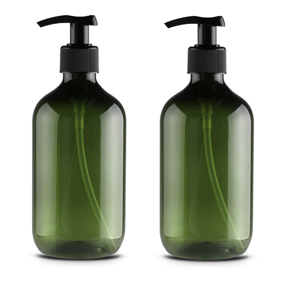 Pleasing Us 2 72 19 Off 2Pcs Storage Bottle Container Bathroom Liquid Foam Countertops Kitchen With Pumps Round Shoulder Soap Dispenser Shampoo Shower In Home Interior And Landscaping Ologienasavecom