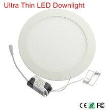 1 шт. светодиодный светильник с регулируемой яркостью, 3 Вт, 6 Вт, 9 Вт, 12 Вт, 15 Вт, 25 Вт, встраиваемый потолочный светодиодный светильник, Точечный светильник для помещений, AC110V, 220 В, драйвер входит в комплект