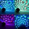 Mini RGB LED Crystal Magic Ball Stage Effect Lighting Lamp Bulb Party Disco Club DJ Light