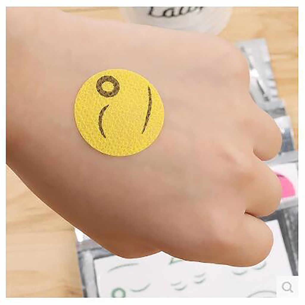 150 Pcs Mosquito Repellent Patch Smileface Anti Nyamuk Stiker Repeller Bayi Keluarga Nyamuk Perangkap Serangga Hama Kontrol