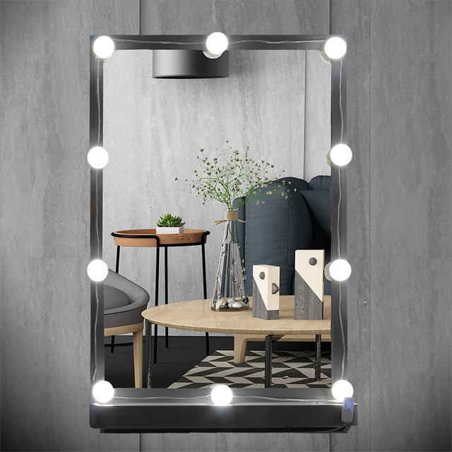 Usb Plug Makeup Mirror Vanity Led Light Bulbs Kit For Dressing Table