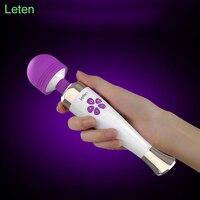 Leten AV Magic wand Máy Rung Dành cho phụ nữ G giao ngay Dildo vibrator Người Lớn Sex đồ chơi cho woman Vibrador âm vật Vibradores Quan Hệ Tình Dục sản phẩm