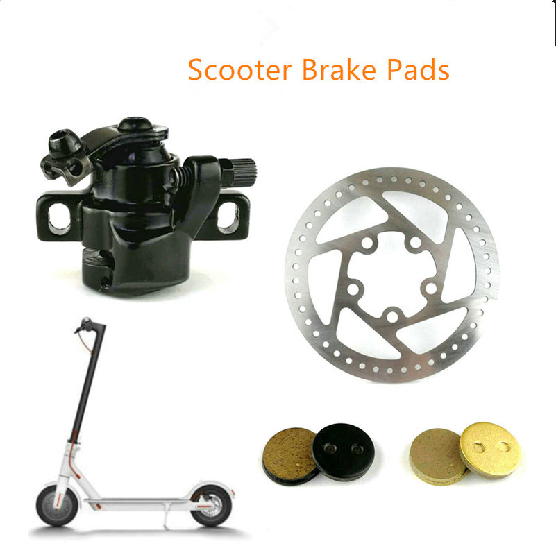 Electric Scooter Brake Pads Disc Replacement Parts for Xiaomi Mijia M365 Scooter Skateboard Caliper Brake Disc Braking Parts