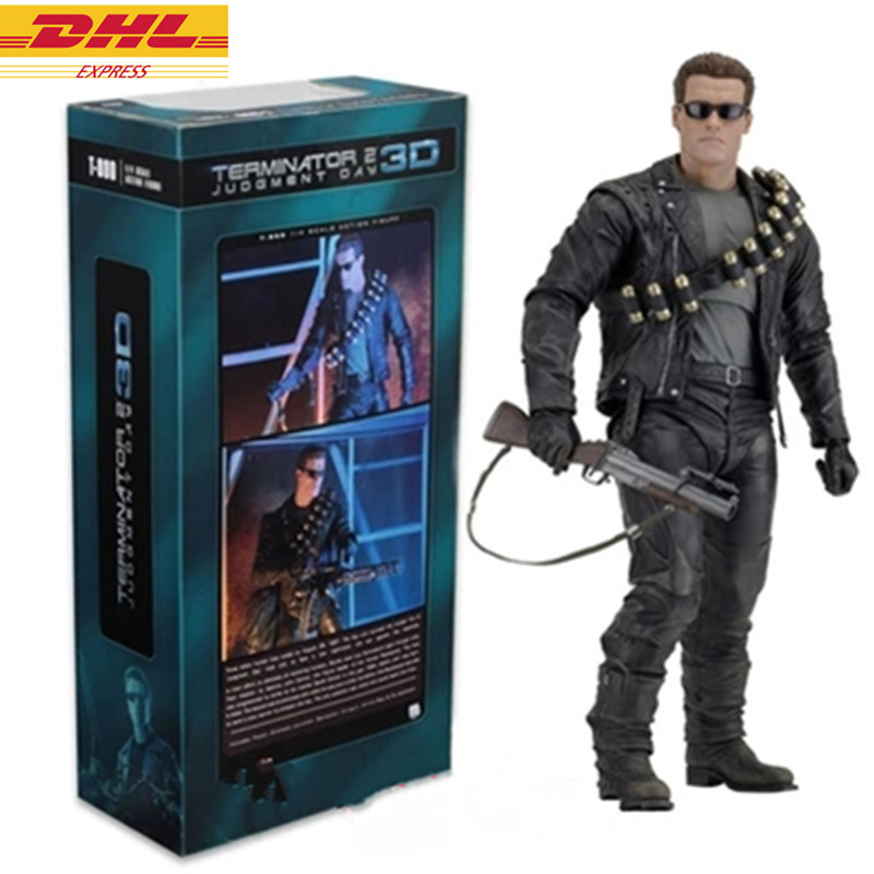 Movies The Terminator Guardian T800 Anhaux 1/4 PVC Action Figure Collectible Model Toy Movable joints D378 avengers black widow alltronic era movable joints boxed hand do pvc action figure collectible toy