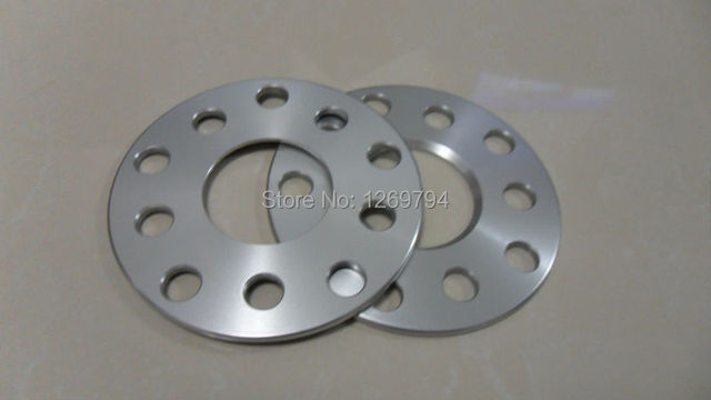 Espaçador da roda Do PCD 5x100/5x112mm Roda HUB 57.1mm 10mm de Espessura Adapter5 * 100/112-57.1-10