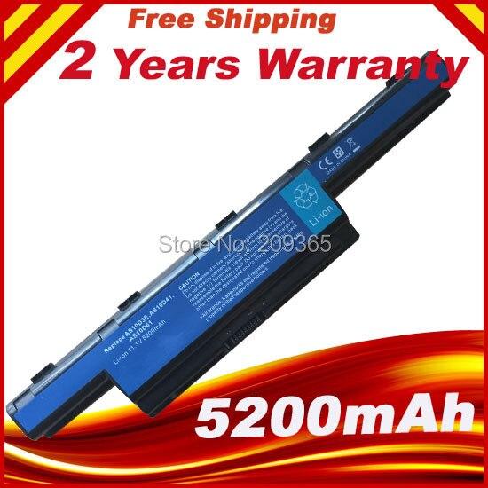 11,1 V batería del ordenador portátil para acer Aspire 4741 de 5742G 5552G 5742 de 5750G 5741G AS10D31 AS10D51 AS10D81 AS10D75 AS10D61 AS10D41 AS10D71