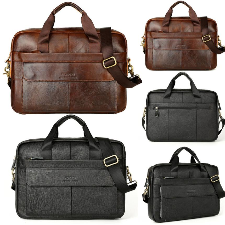 xiniu Mens Leather Messenger Shoulder Bags Business Work Briefcase Laptop bags woman bags 2018 bag handbag fashion handbag