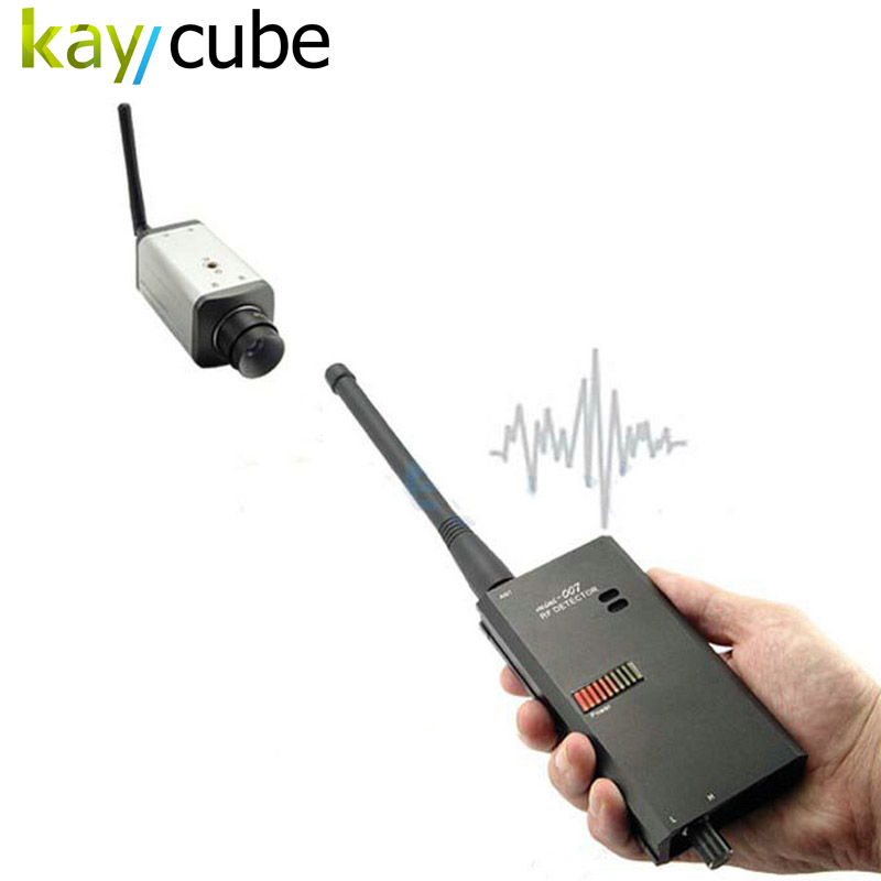 Kaycube High Sensitivity GSM Bug Wireless RF Signal Detector GPS Mobible Phone Finder Detect Detection Radio Frequency Scan 1 pcs full range multi function detectable rf lens detector wireless camera gps spy bug rf signal gsm device finder