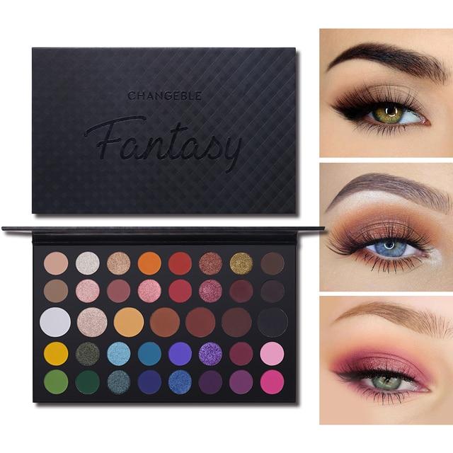 James Charles 39 Color Shimmer Matte Eyeshadow Makeup Palette Nude