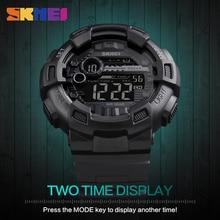 Мужские Силиконовые спортивные часы горячая SKMEI лучший бренд мужские s Digtial часы водостойкие военные электронные наручные часы Мужские часы Reloj