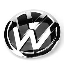 150mm Front Grill Emblem Badge Car Logo Replacement for VW Volkswagen Tiguan 2K5 853 600 2K5853600 fashionable replacement steel exhause for vw tiguan silver blue 2 pcs