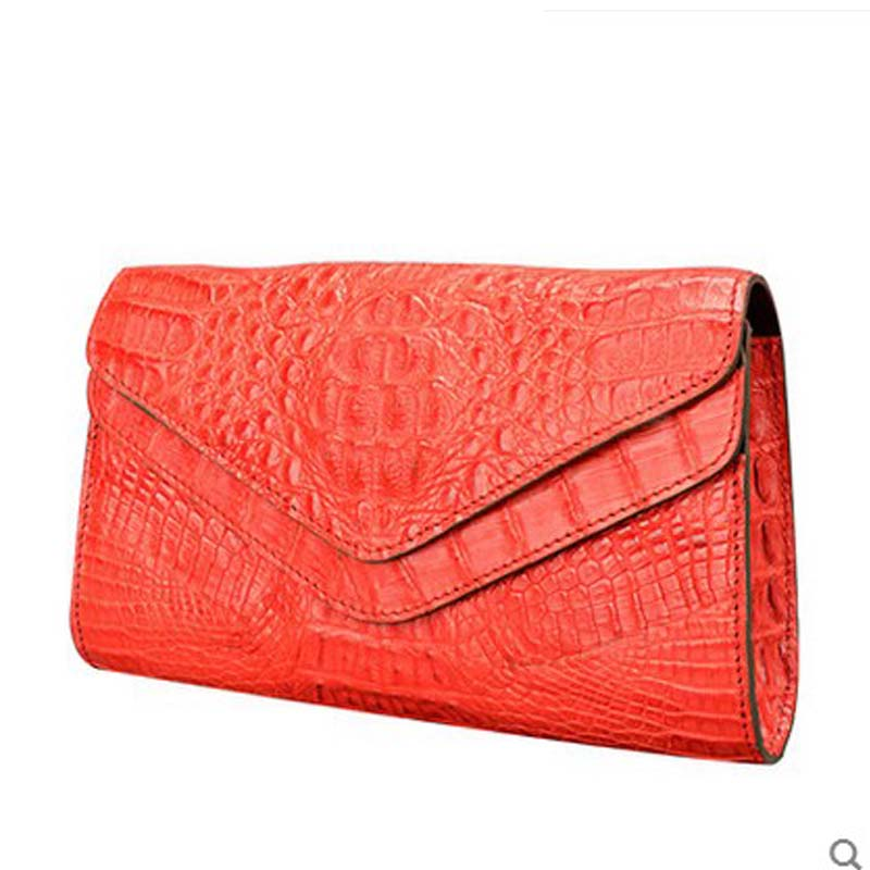 jialante Lady crocodile leather women handbag single shoulder women chain bag small shoulder bag 2017 new girl bag jialante 2017 new lizard leather bag is made of simple small shell bag customized for 15 days