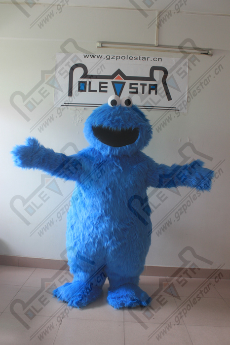 cookie monster and elmo mascot costumes sesame street mascot costumes