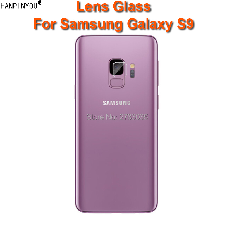 For Samsung Galaxy S9 5.8 Clear Ultra Slim Back Camera Lens Protector Rear Camera Lens Cover Tempered Glass Film