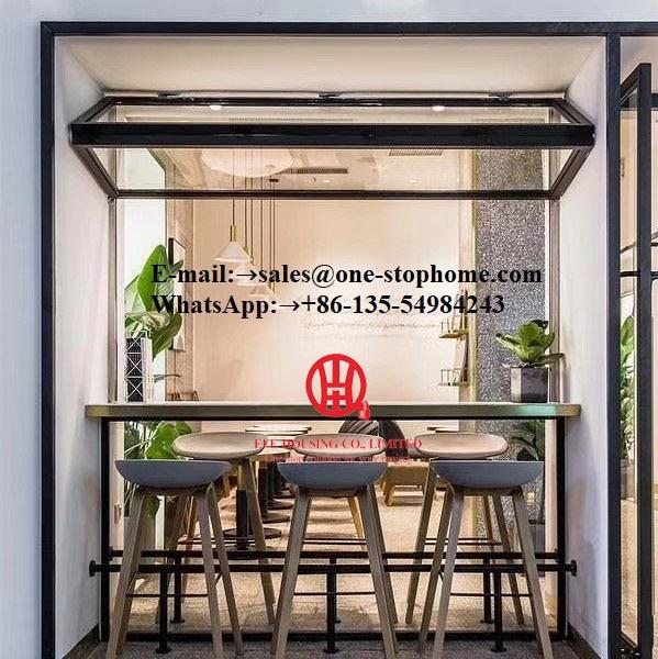 Modern Aluminum Folding Window,restaurant Window,bar Window,saloon Window,bifold Window,bifolding Window,bi-fold Window